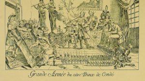 Caricature Condé