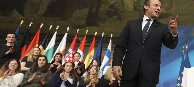 Emmanuel Macron à la Sorbonne - Politique Magazine