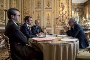 Emmanuel Macron et Jean-Claude Mailly - Politique Magazine