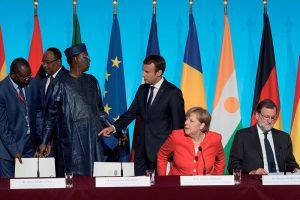 Deby Itno, Emmanuel Macron, Angela Merkel, Mariano Rajoy - Politique Magazine