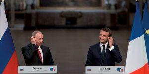 Vladimir Poutine, Emmanuel Macron - Politique Magazine