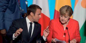 Emmanuel Macron et Angela Merkel - Politique Magazine