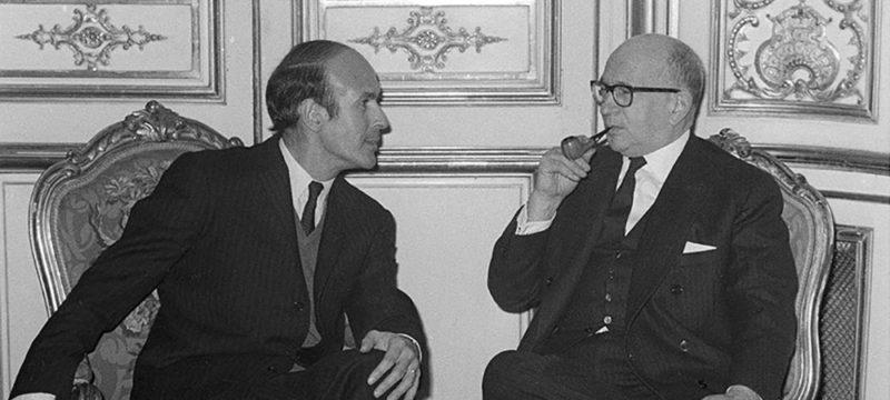 Valéry Giscard d'Estaing et Edgar Faure - Politique Magazine