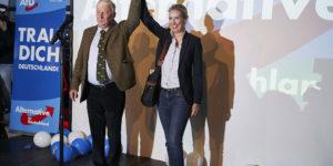 Alice Weidel et Alexander Gauland - AfD - Politique Magazine