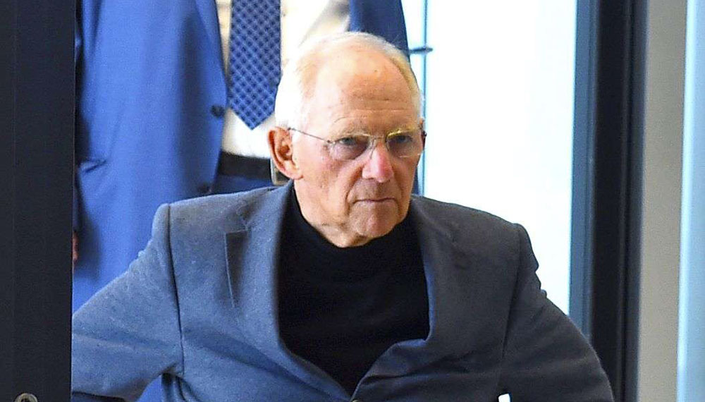 Wolfgang Schäuble - Politique Magazine