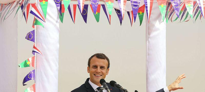 Emmanuel Macron en Afrique - Politique Magazine