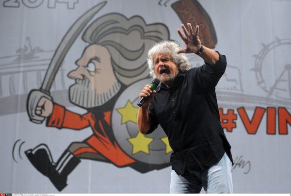 Beppe Grillo : il n'est plus là mais son parti continue. Politique magazine