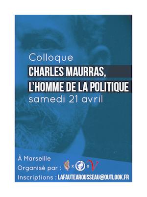 Colloque Maurras - Politique Magazine