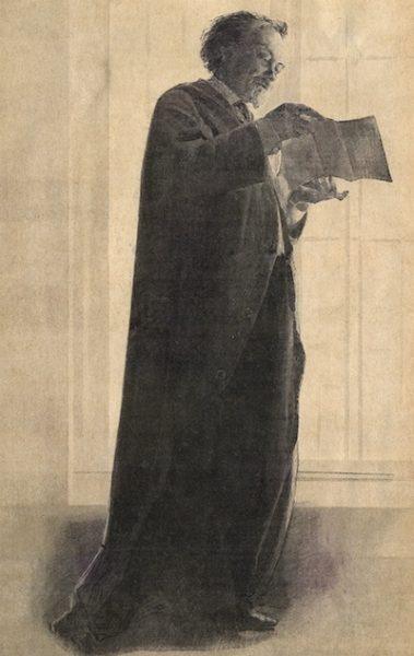 Auguste, comte de Villiers de l'Isle Adam (1838-1889).