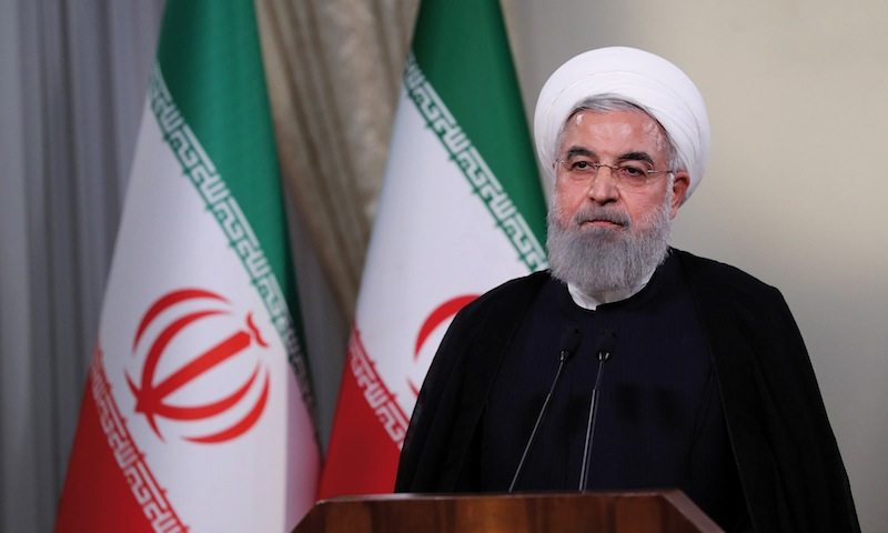 Le président de la République islamique Hassan Rohani ne pourra plus que difficilement jouer son rôle d'apaisement.