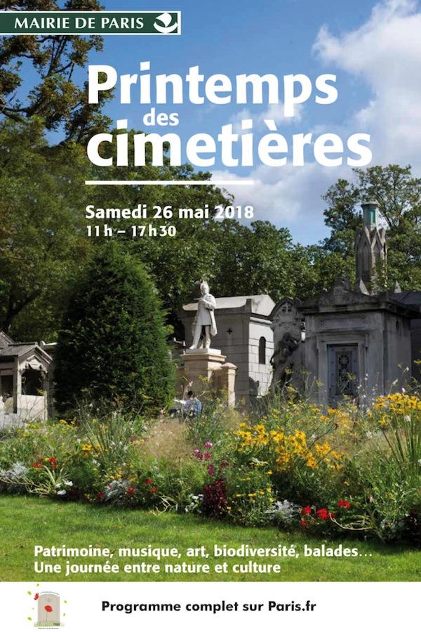 Printemps des cimetières:quand le ludique s'invite dans la mort, il ne reste plus rien.