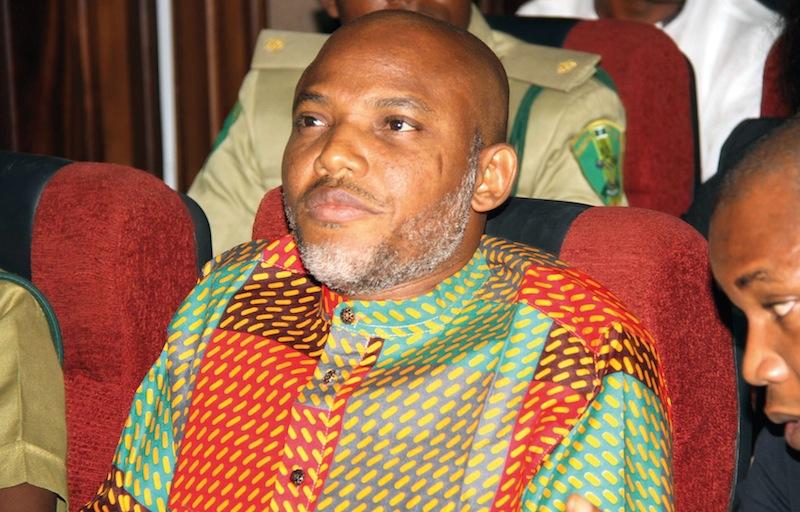 Le «Boss» du Biafra aujourd'hui disparu.